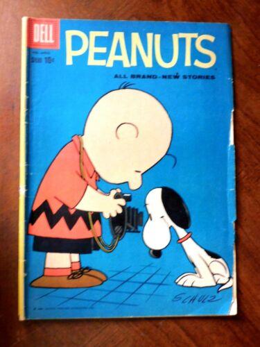 PEANUTS #4 (DELL1960) VG- (3.5) cond.  Original Printing
