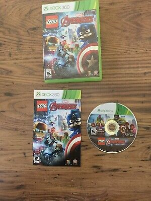 LEGO Marvel's Avengers (Microsoft Xbox 360, 2016) Complete, Tested Works Great