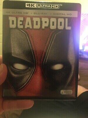 Deadpool 4K UHD Blu-ray Disc, 2016, 2-Disc Set 4K Ultra HD