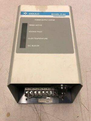 Modicon Goulds 110-0144 Model Pls4 Power Supply