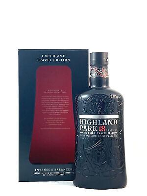 Highland Park 18 Jahre Travel Edition Single Malt Scotch Whisky 0,7l, alc. 46 Vo
