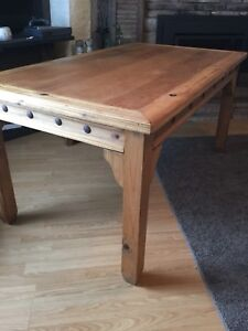 SPPU——Solid wood rustic Mexican dining table