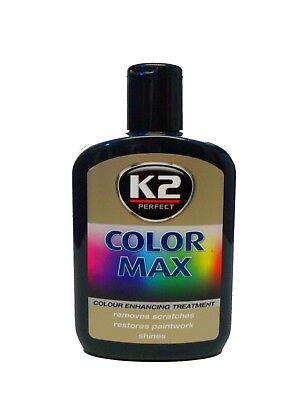 Schwarze Autopolitur Farbpolitur Wachspolitur Farbpigmen K2 Color Max 30,75€/l