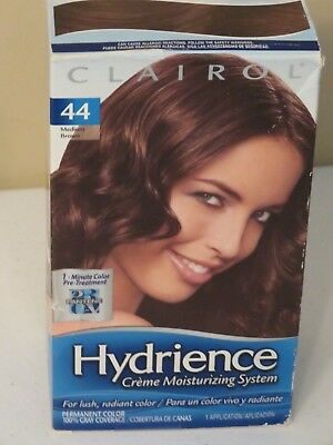 CLAIROL HYDRIENCE DEEP MOISTURIZING COLOR CREME 44 MOCHA SPLASH MED BROWN