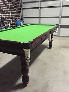 Slate billiard table solid wood excellent condition Altona Hobsons Bay Area Preview