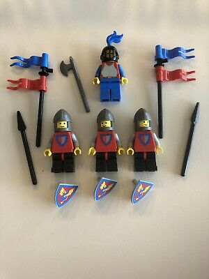 Lego Minifigure Castle Knights Lot G - Vintage Crusader Knights & Weapons