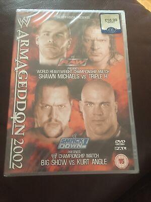 WWE - Armageddon 2002 (DVD, 2003) New & Sealed
