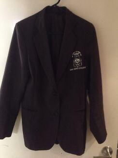 San Sisto College Blazer Size 8