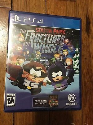 South Park: The Fractured but Whole (Sony PlayStation 4, 2017) Brand new