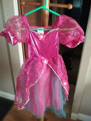 Rubies Twinklers Pretty in Pink Costume Halloween Skirt lights up girls Sz Small