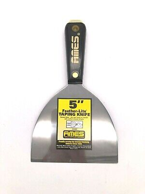 5 Inch Width Taping Knife For Drywall Feather Lite - Ames - Lot Of 5 Units