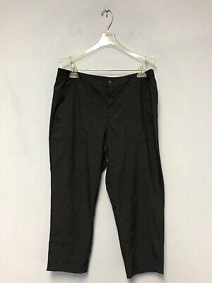 RBX Capri Pants Women's Black Athletic Work Out Cropped Dance Pants Size L