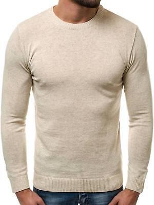 ca78f231749c3c Strickpullover Langarmshirt Sweatshirt Pulli Figurbetont Herren OZONEE  O 6001 18