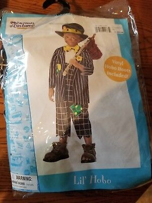 Lil Hobo Toddler Halloween Costume Size L 4/6
