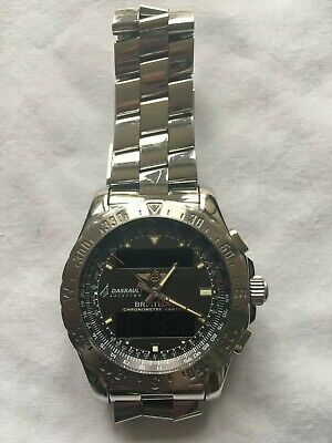 BREITLING AIRWOLF with one off history (please read description) - UNIQUE watch