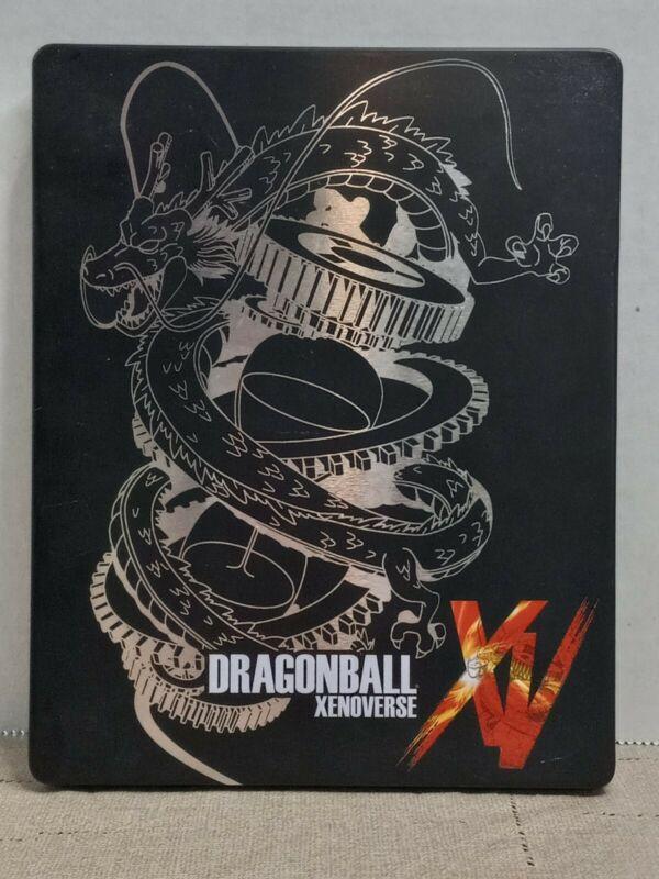 dragonball xenoverse xv steelbook metal case playstation 4 ps4  RARE