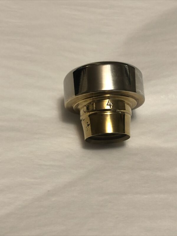 diorio trumpet mouthpiece C T 4 / Silver/Gold plated/ New old stock