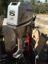 outboard Honda  4-stroke 15 hp  long shaft Busselton Busselton Area Preview