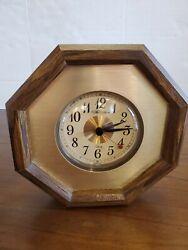 ️New Haven quartz wall clock ️made in USA vintageoctagon  works
