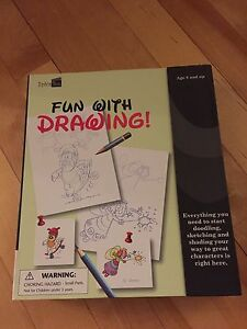 Drawing books, kids design books, writing kits