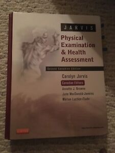 Jarvis physical exam and health assessment