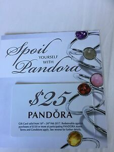 Pandora discount $25 if spend $150 Launceston Launceston Area Preview