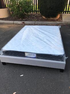Brand new fabric bed base frame Double$140,Queen$160