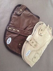 2 Wagnwear Dog coats, one fits small dog one fits medium dog Northfield Port Adelaide Area Preview