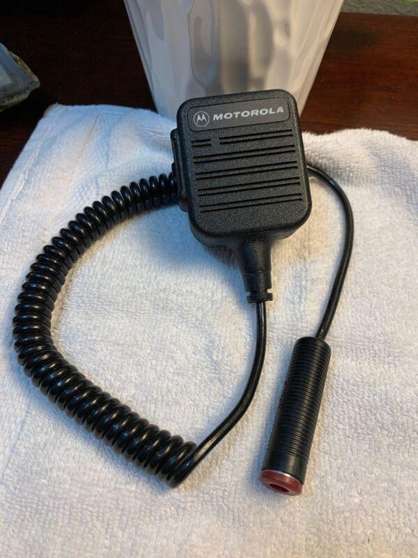 Motorola NMN6128B Remote Speaker Microphone Motorola SABER Series Radios NICE