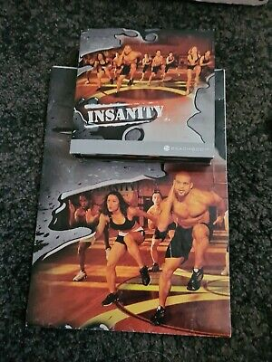 Insanity Ultimate Cardio Beachbody Workout (10 Disc Dvd Set)