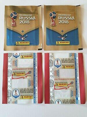 Panini Russie 2018 1X tuten,bustina,sobre,pack rare special no code back Belgish