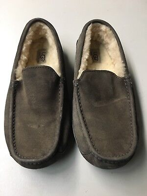 Used, UGG Ascot 5775 Gray Men's Suede Slippers Size 9 for sale  Seattle