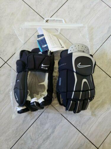 "Brand new Nike Quest 1 pro stock hockey gloves, 14.5"", rare"