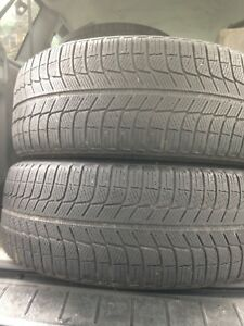 2-215/55R17 Michelin X-ICE winter tires