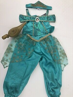Disney Princess Jasmine Dress Up Costume with Magic Lamp age 2-3 Years