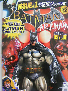 BATMAN ARKHAM # 1 / DETECTIVE COMICS / TITAN UK / DC COMICS NEW 52 WINTER 2014