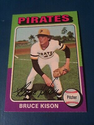 1975 Topps Set Break #598 Bruce Kison