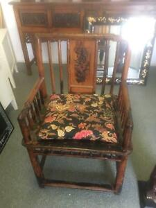 Antique style timber armchair Albany Creek Brisbane North East Preview
