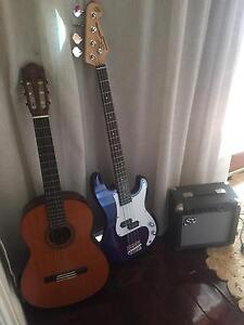 2 x Guitars plus amp Hilton Fremantle Area Preview