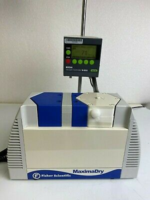 Fisher Maximadry Pu-1306-n820-9.01 Diaphragm Vacuum Pump Tested To 60 Torr Knf