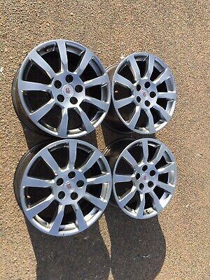 "(4) Cadillac CTS Factory 18"" Factory Aluminum Wheels 2008 2009 Hyper Silver"