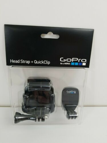 GoPro Head Strap QuickClip Model ACHOM-001 Compatible With All GoPro Cameras - $13.00