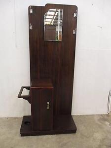C33050 Vintage ReTRo Art Deco TH BROWN Hall Stand w/ Mirror Unley Unley Area Preview