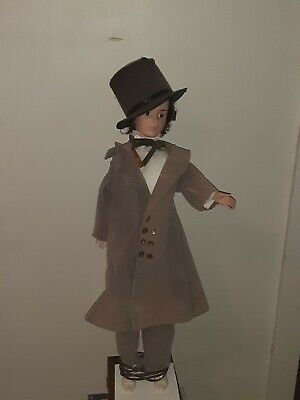 """VINTAGE ADVERTISING FIGURE STORE DISPLAY Electrical ANIMATED 31"""" TALL"""