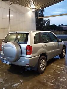 2003 Toyota RAV4 4x4 Wagon - 12months Rego + RWC + USB/AUX Radio Melbourne CBD Melbourne City Preview