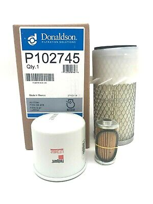 Filter Service Kit For John Deere 650 750 Compact Tractor
