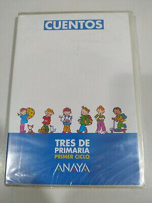 Cuentos Tres de Primaria Primer Ciclo Anaya - 2 x CD Español...
