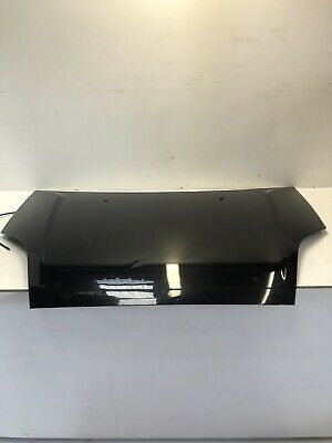 FORD FIESTA MK6 BONNET IN PANTHER BLACK 2002-2008 PLATE