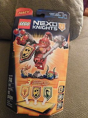 Lego Nexo Knights 70331 Ultimate Macy 101 Pieces