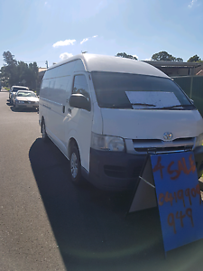 Toyota hiace high roof 2006 Guildford Parramatta Area Preview
